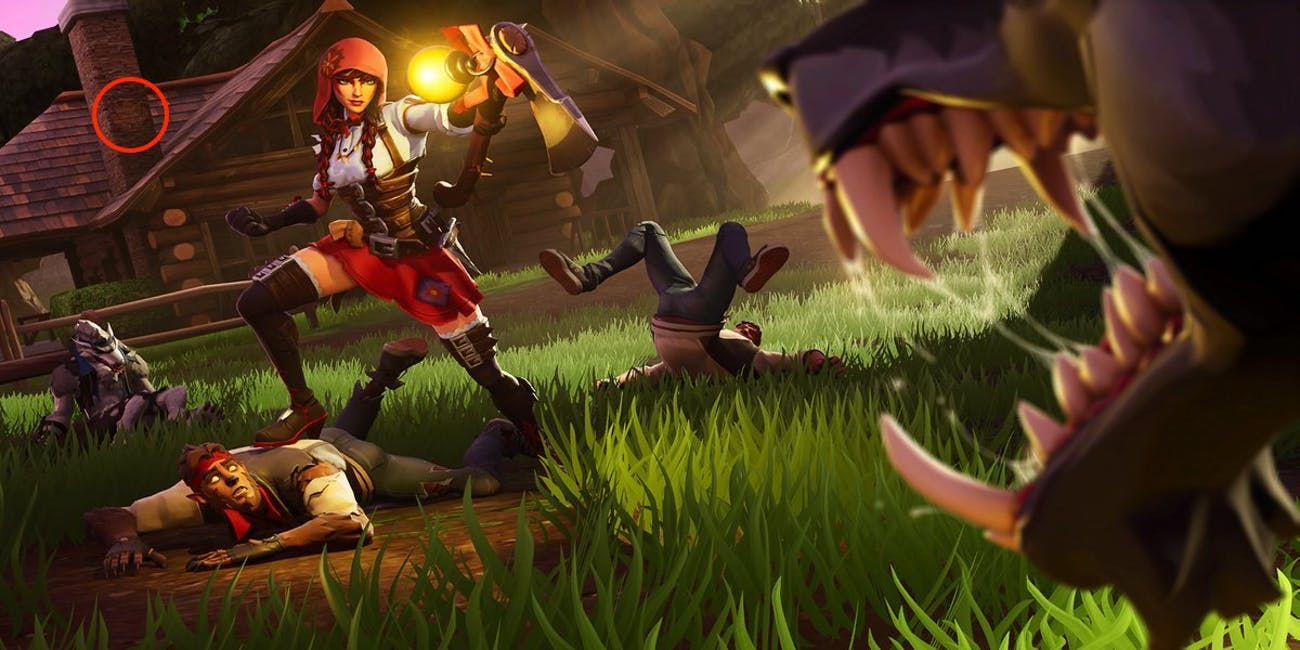 Fortnite Week 3 Secret Battle Star Loading Screen Location and 1300x650