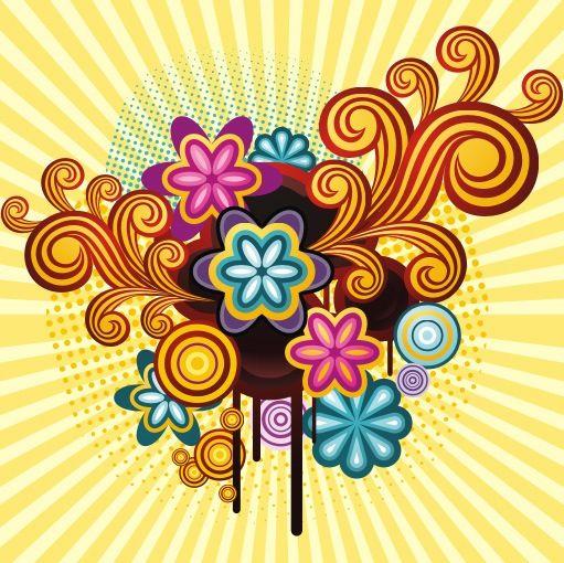 foto de Free download Flower power wallpaper WALLPAPER JUNK Pinterest ...