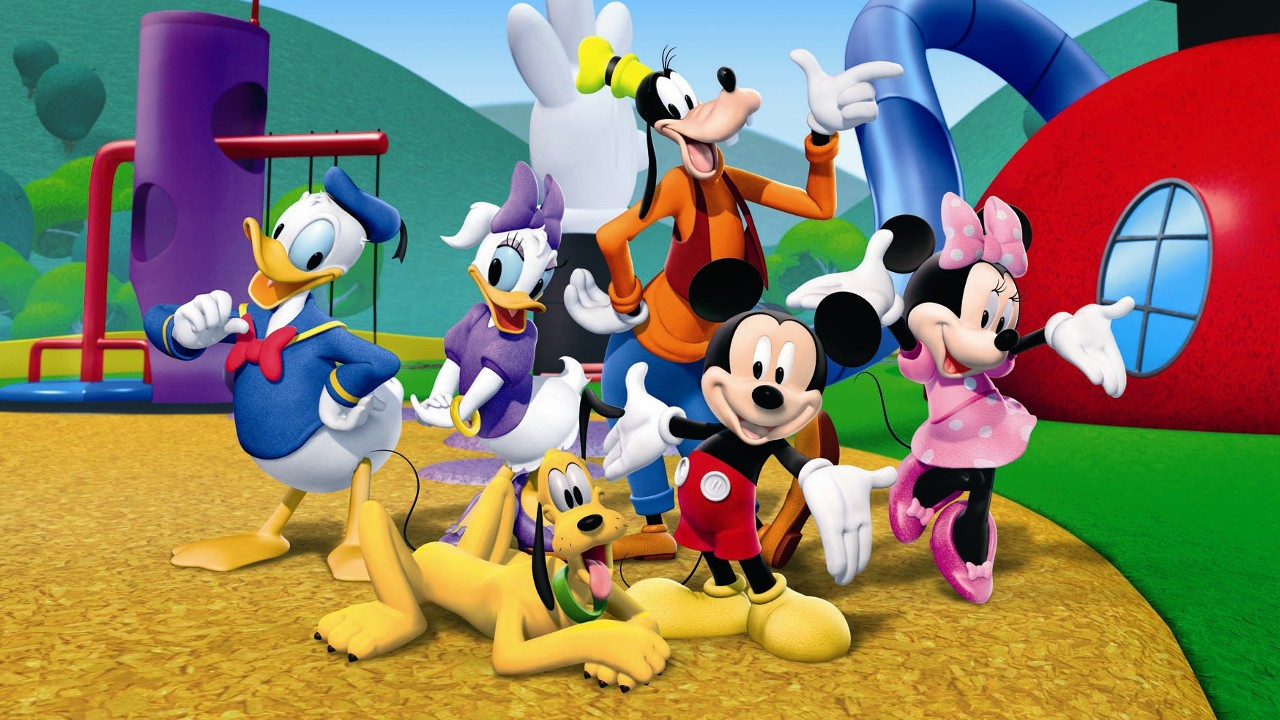 49 Mickey Mouse Clubhouse Wallpaper On Wallpapersafari