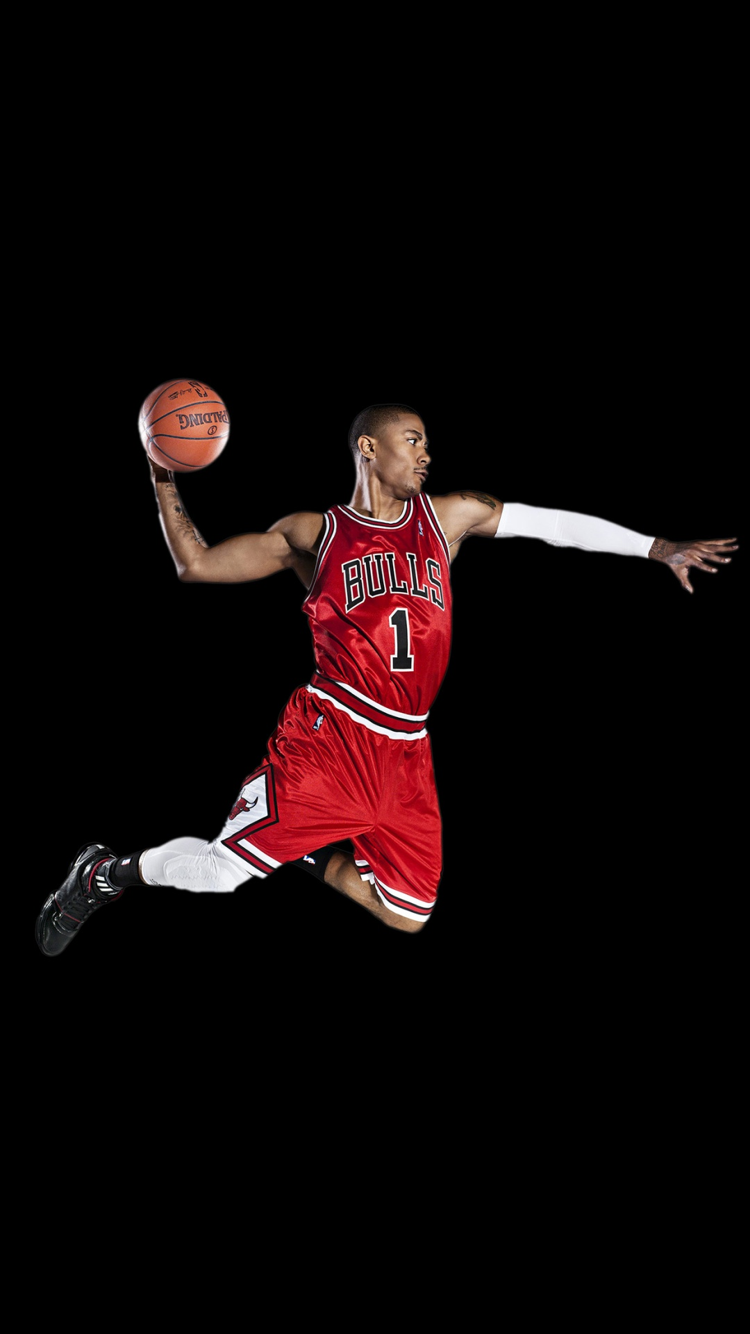 Chicago Bulls Derrick Rose iPhone 6 HD Wallpaper iPod 1080x1920