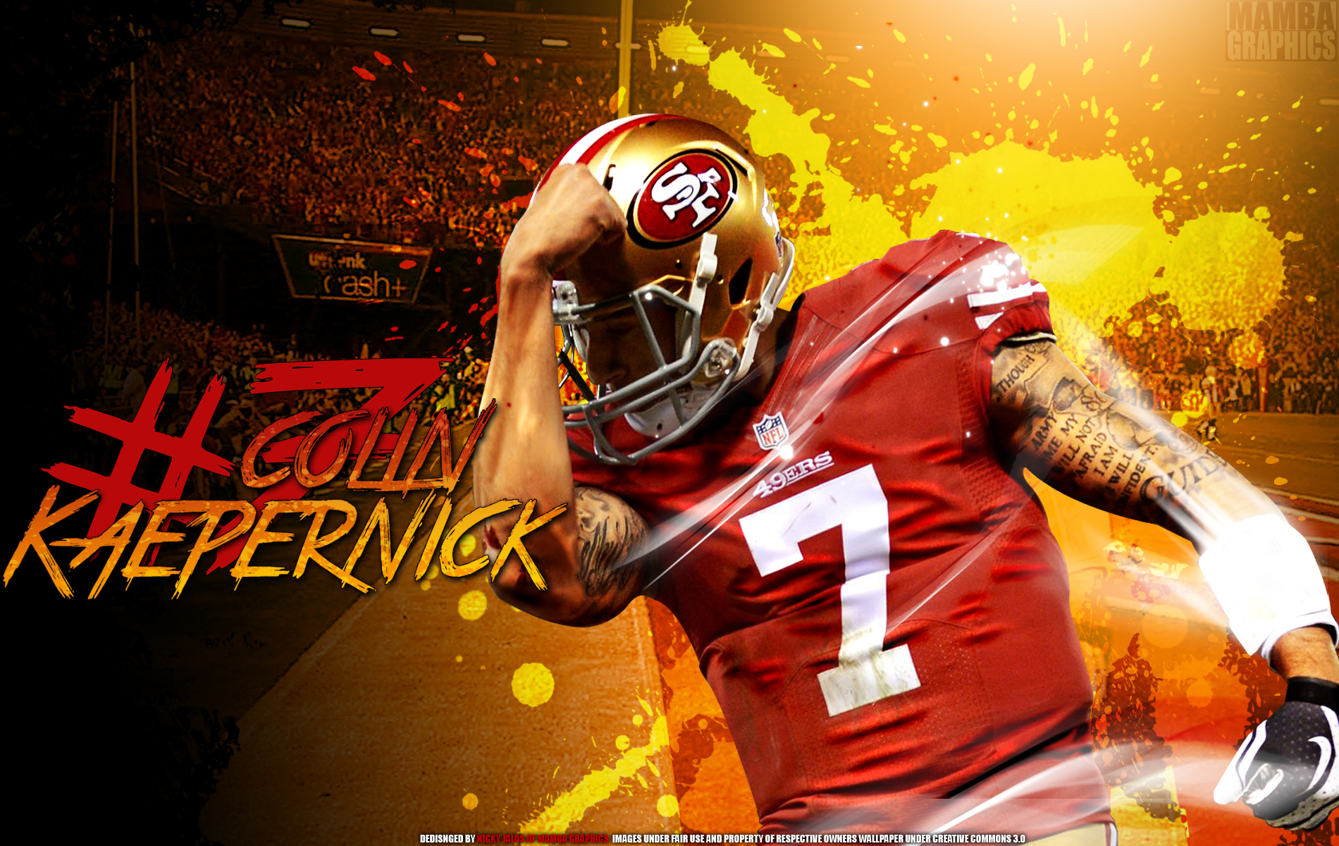 Colin Kaepernick 49ers Exclusive HD Wallpapers 938 1900x1200