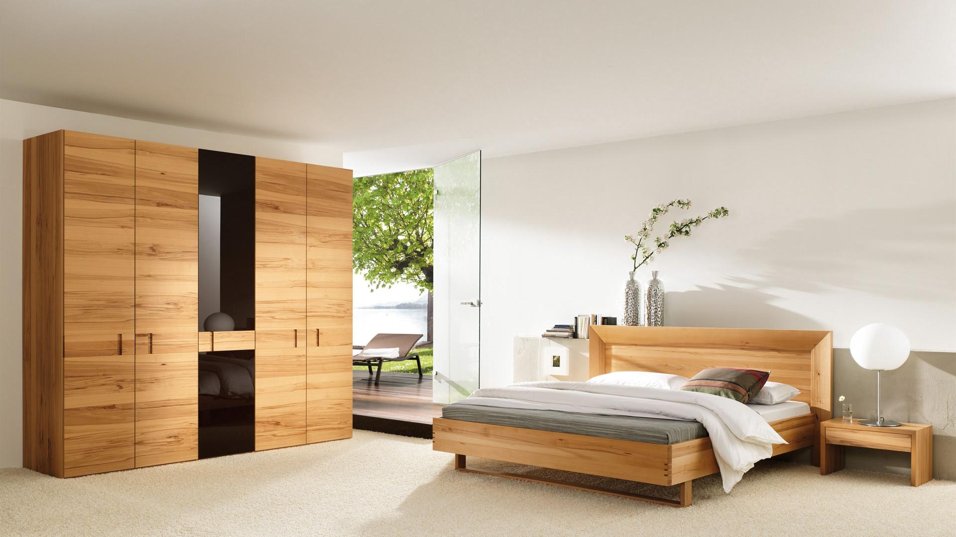 Download wallpaper 1920x1080 bedroom wardrobe style wooden full 1920x1080