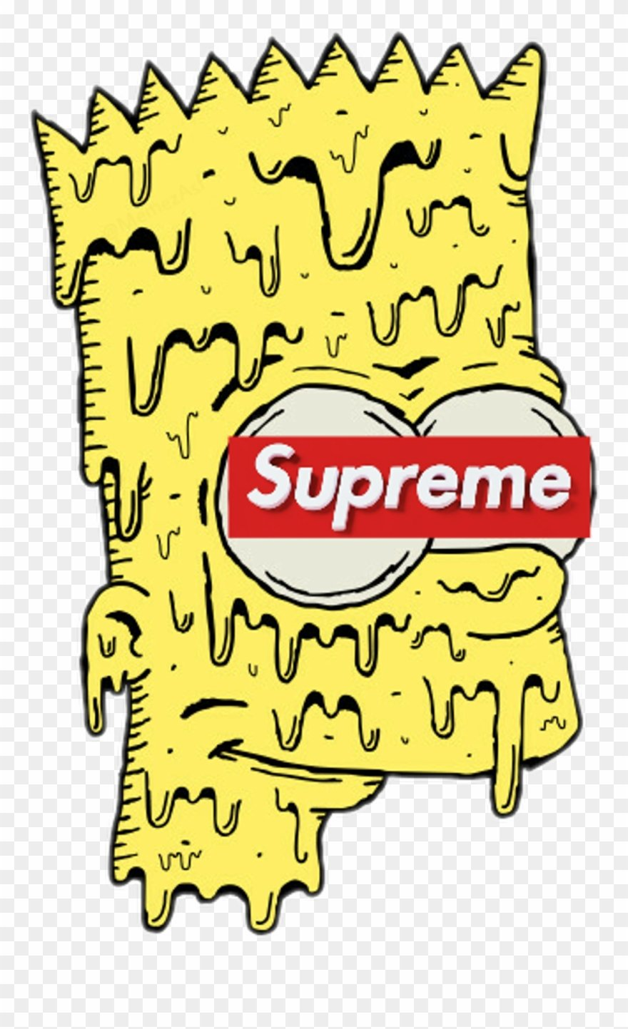 bart supreme simpsons thesimpsons bartsimpson   Bart Supreme 880x1443