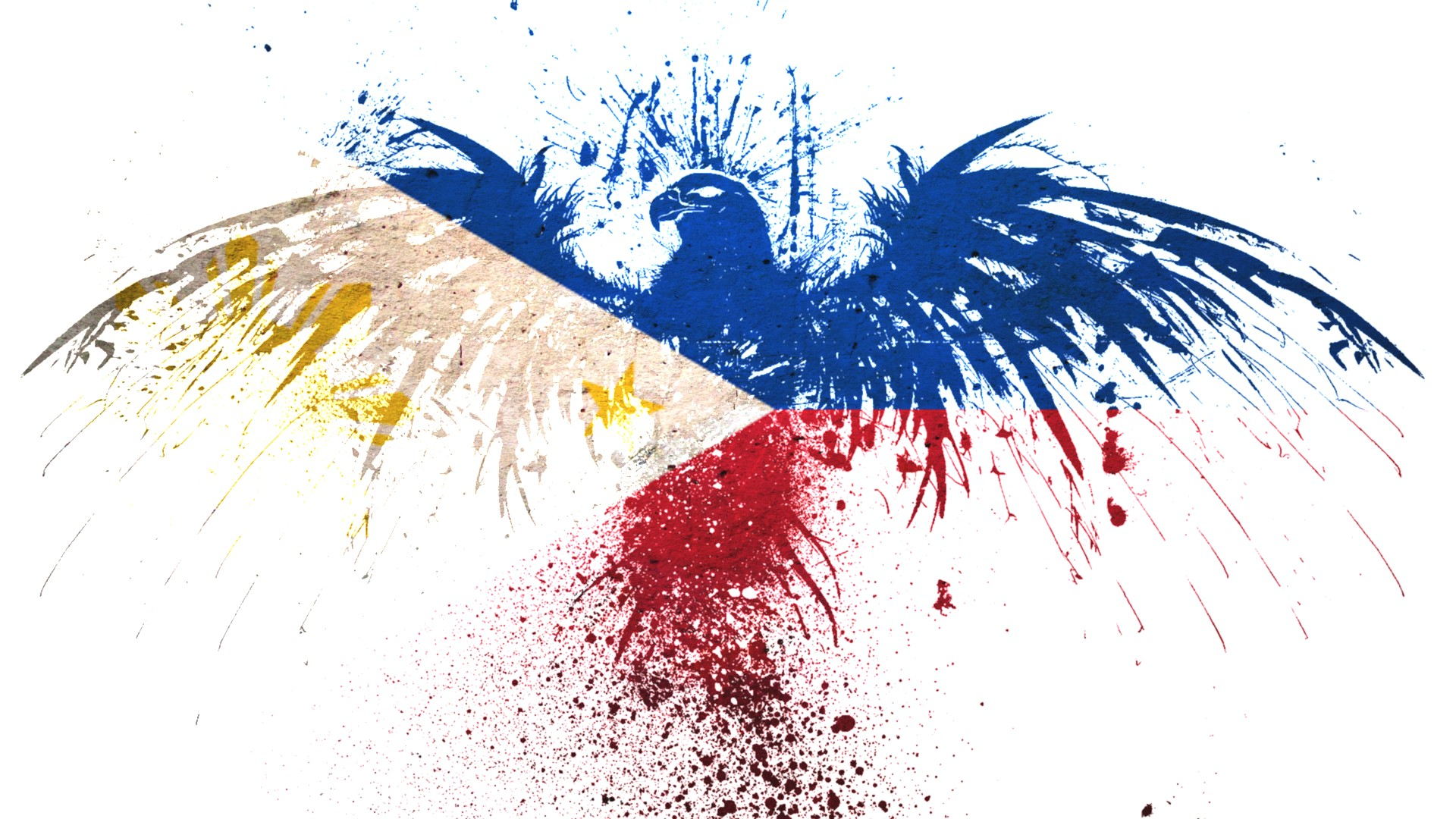 Eagles Hawk Flags Philippines White Background Wallpaper   MixHD 1920x1080