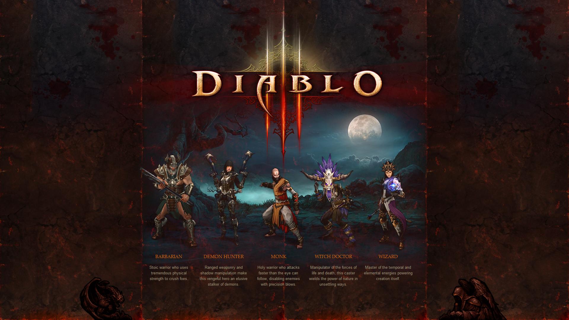 Diablo 3 Wallpaper 1920x1080: Diablo 3 Wizard Wallpaper
