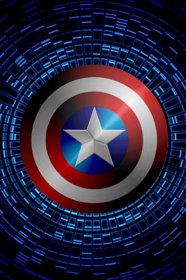 Captain America Iphone Wallpaper Tumblr Captain americ 640x960