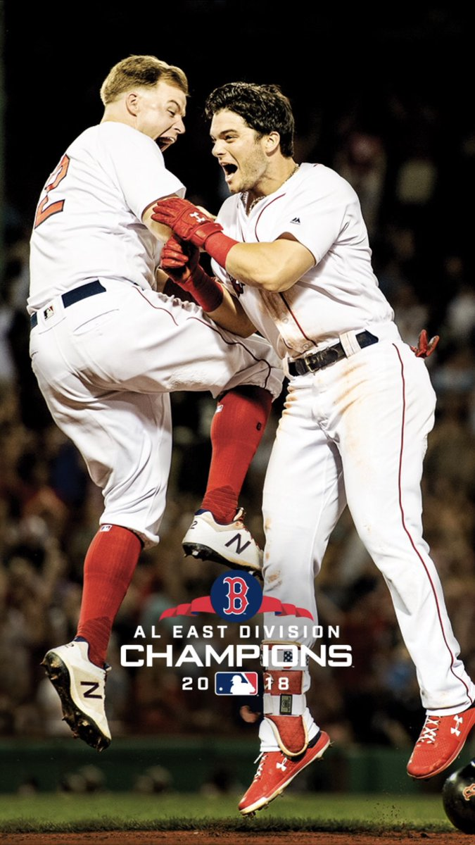 Boston Red Sox on Twitter Here they are Your AL East Champs 675x1200