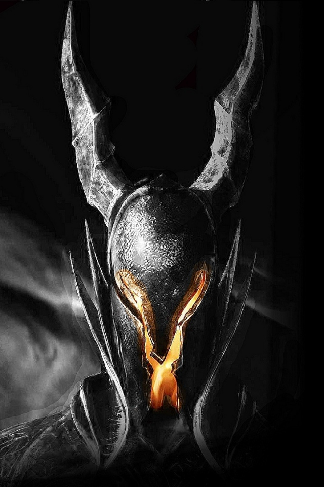dark souls helmet light fire look 640x960