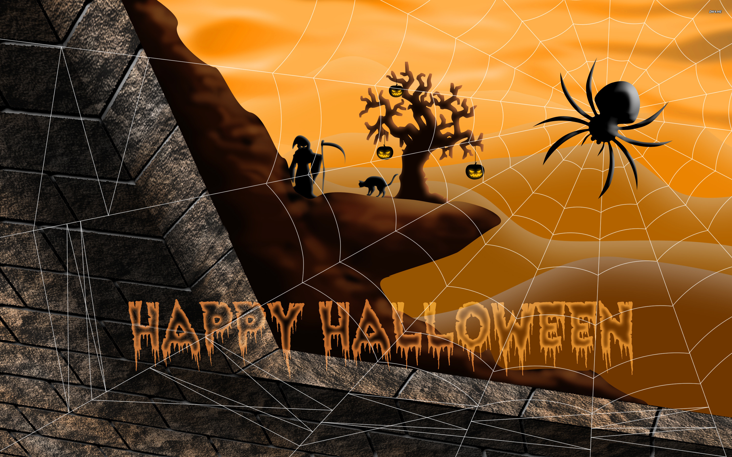 Happy Halloween wallpaper   Holiday wallpapers   1738 2880x1800