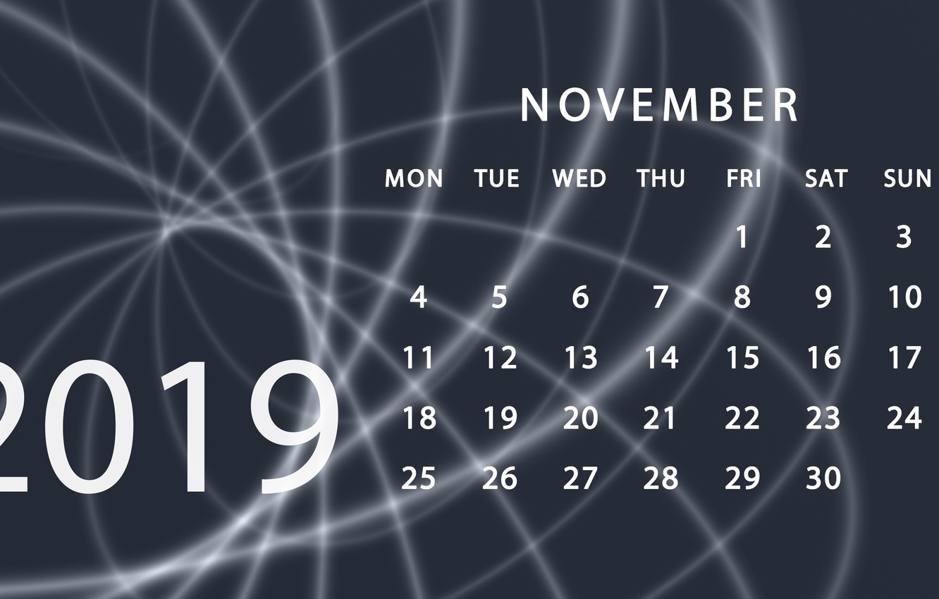 Wallpaper calendar November 2019 images for desktop section 1332x850
