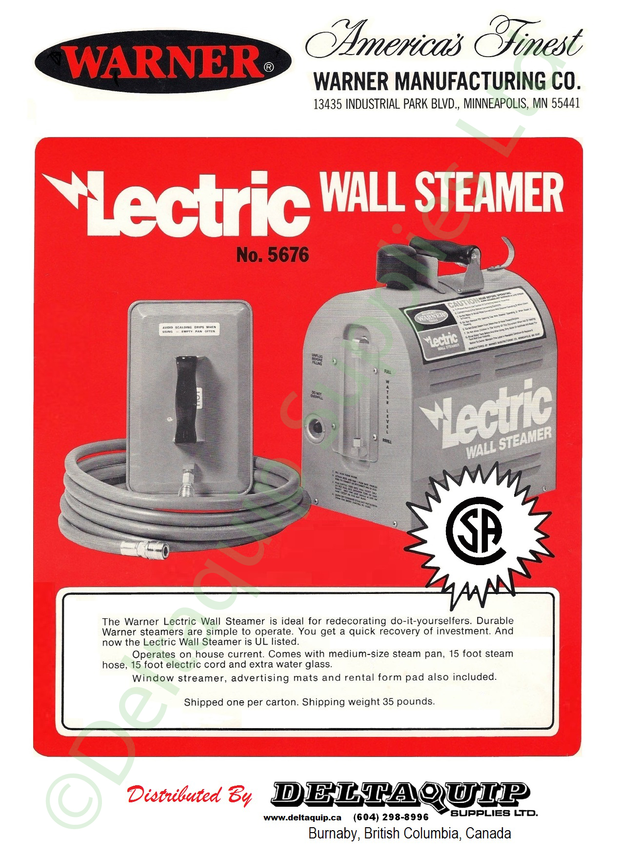 Lectric Wallpaper Steamer Deltaquip Supplies Ltd 1277x1754