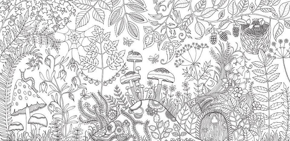 British illustrator designs adult colouring book   Loop Trinidad and 959x467