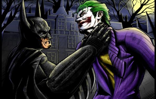 Batman joker arkham batman arkham asylum wallpapers photos 596x380
