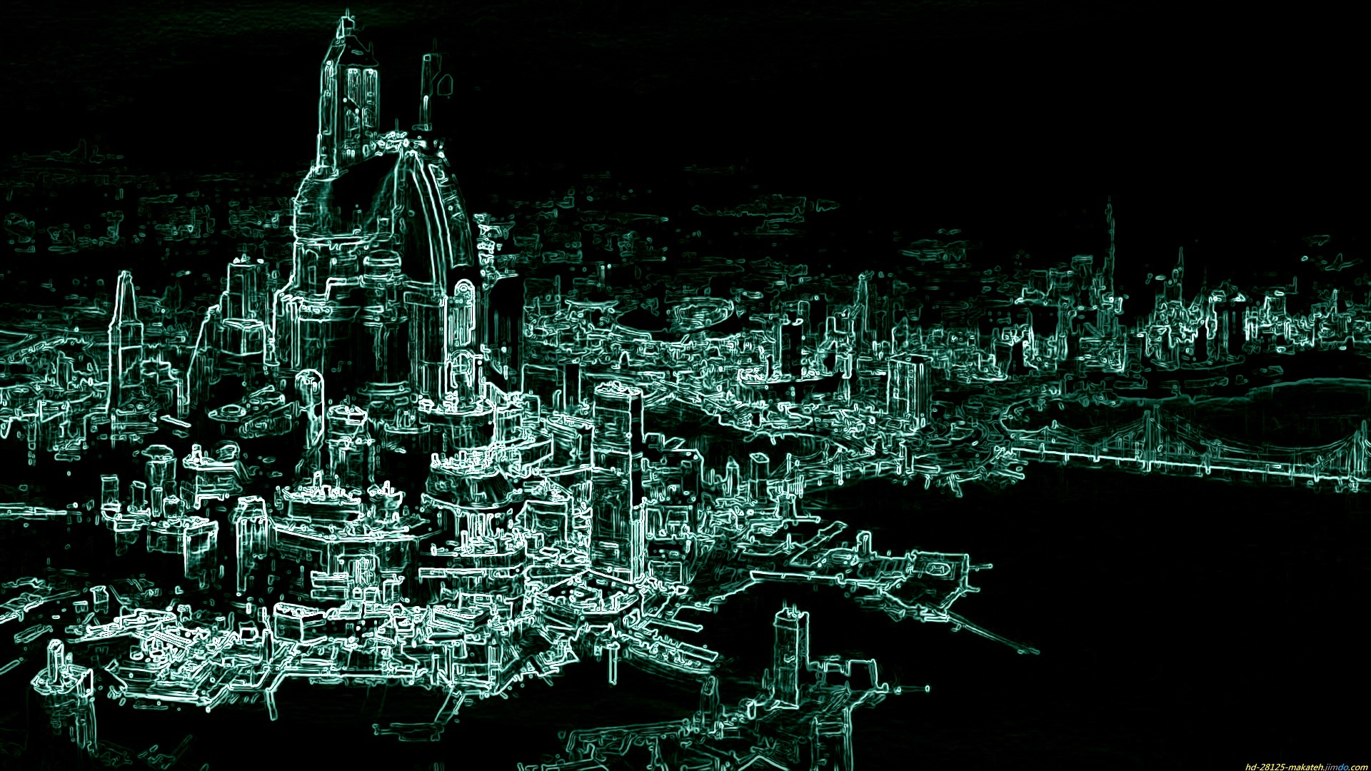Sci Fi City Computer Wallpapers Desktop Backgrounds 1920x1080