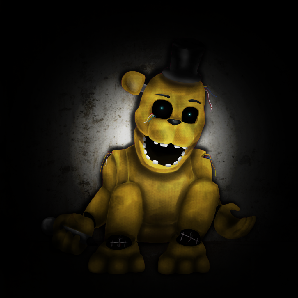 Golden Freddy by ShadowWhisper446 1024x1024