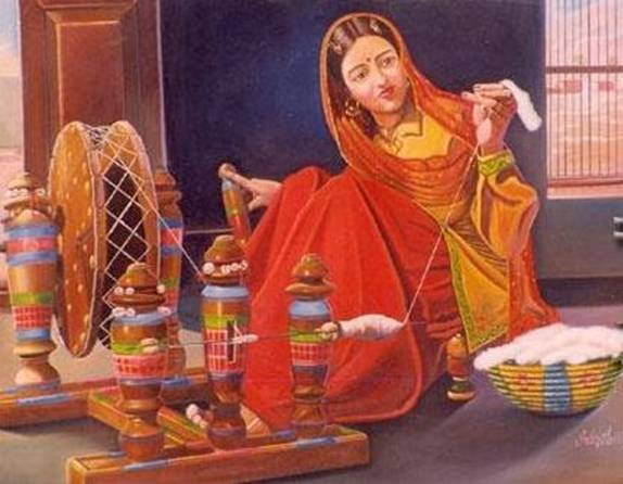 PUNJABI CULTURE PAINTINGS 574x446