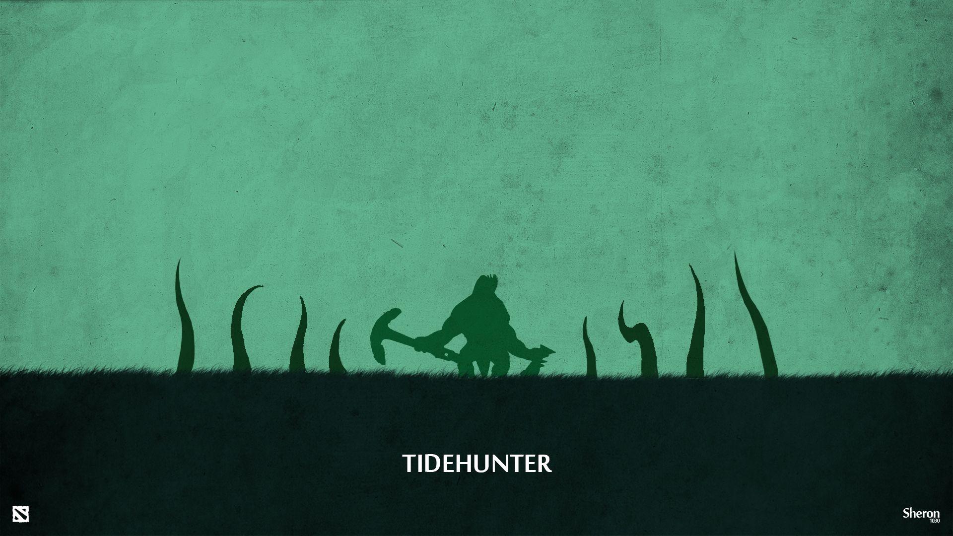 Dota 2   Tidehunter Wallpaper by sheron1030deviantartcom on 1920x1080