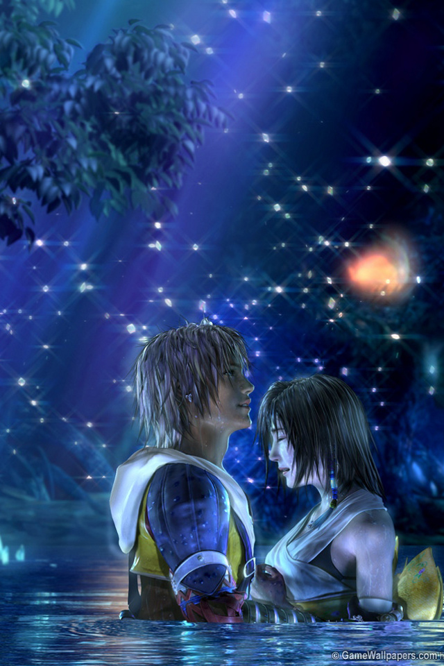 Download for iPhone games wallpaper Final Fantasy X 640x960