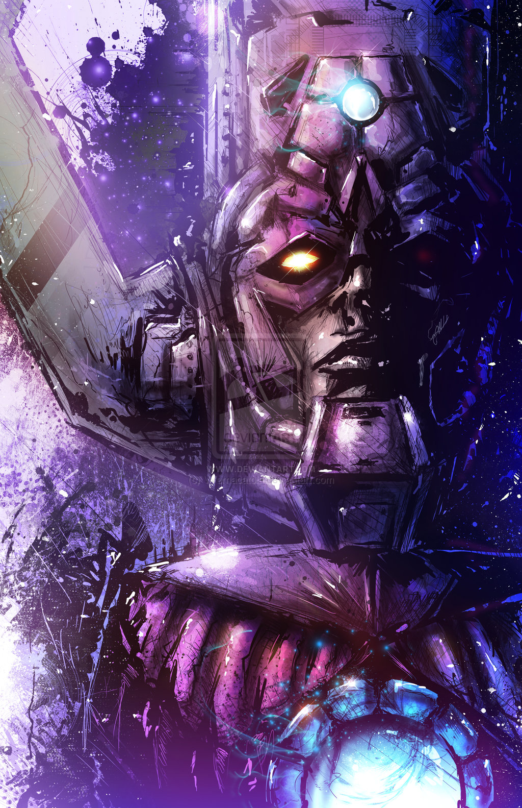 Galactus Wallpaper Galactus by vvernacatola 1024x1583