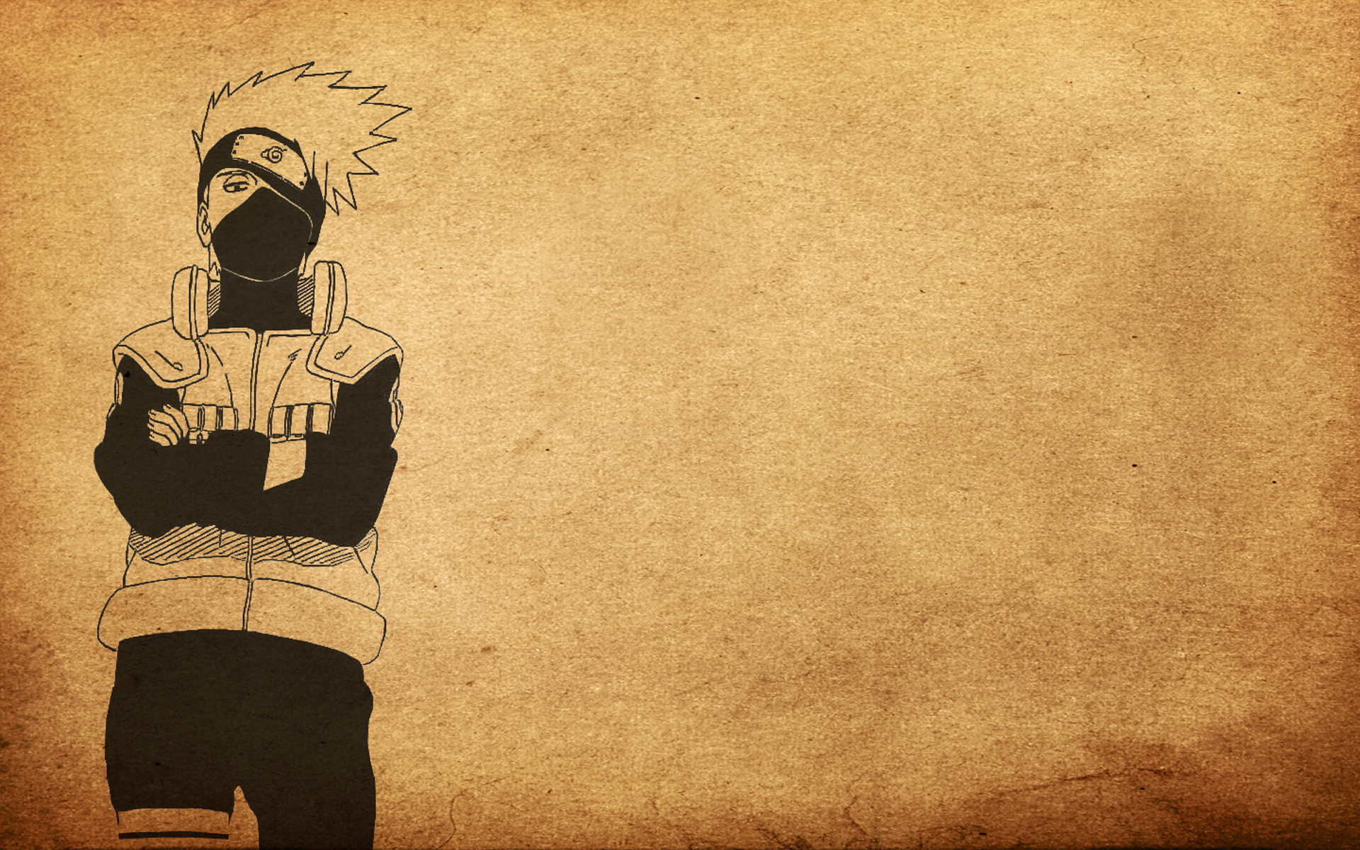 Wallpaper kakashi naruto anime shinobi minimal wallpapers anime 1920x1200