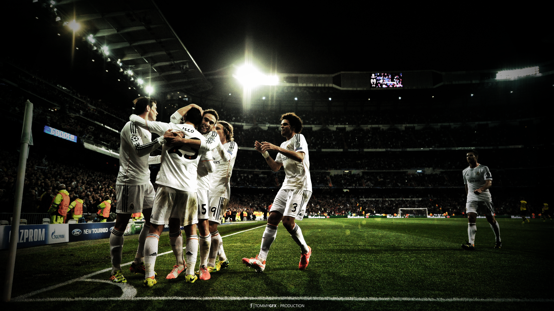 Real Madrid CF Were all white Wallpaper you like it 1920x1080