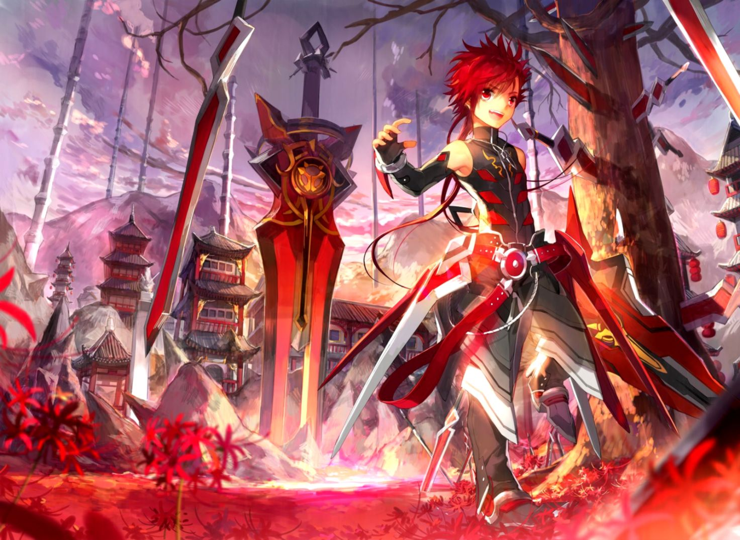 Elsword Wallpaper Wallpapers Themes 1472x1074