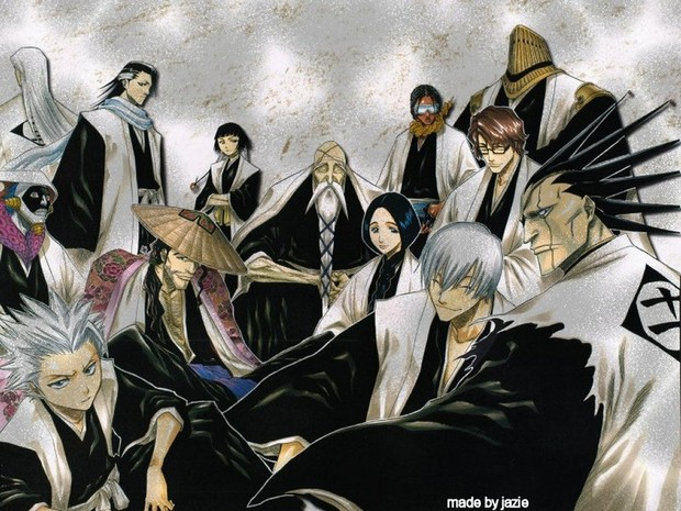 Bleach Captains Wallpapers | www.pixshark.com - Images ...