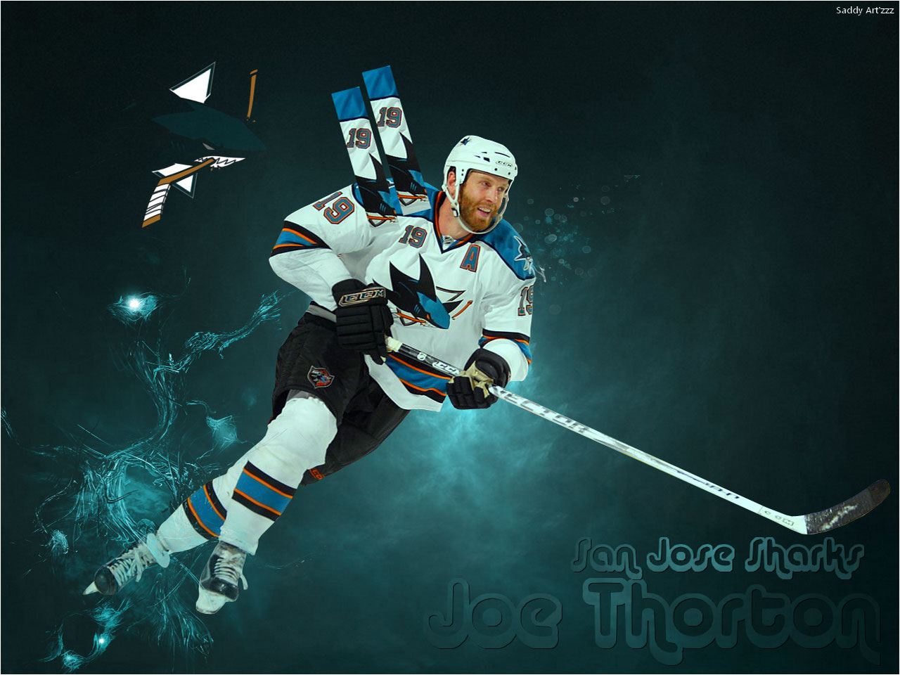 Download Nhl Wallpapers Joe Thornton San Jose Sharks Wallpaper 1280x960