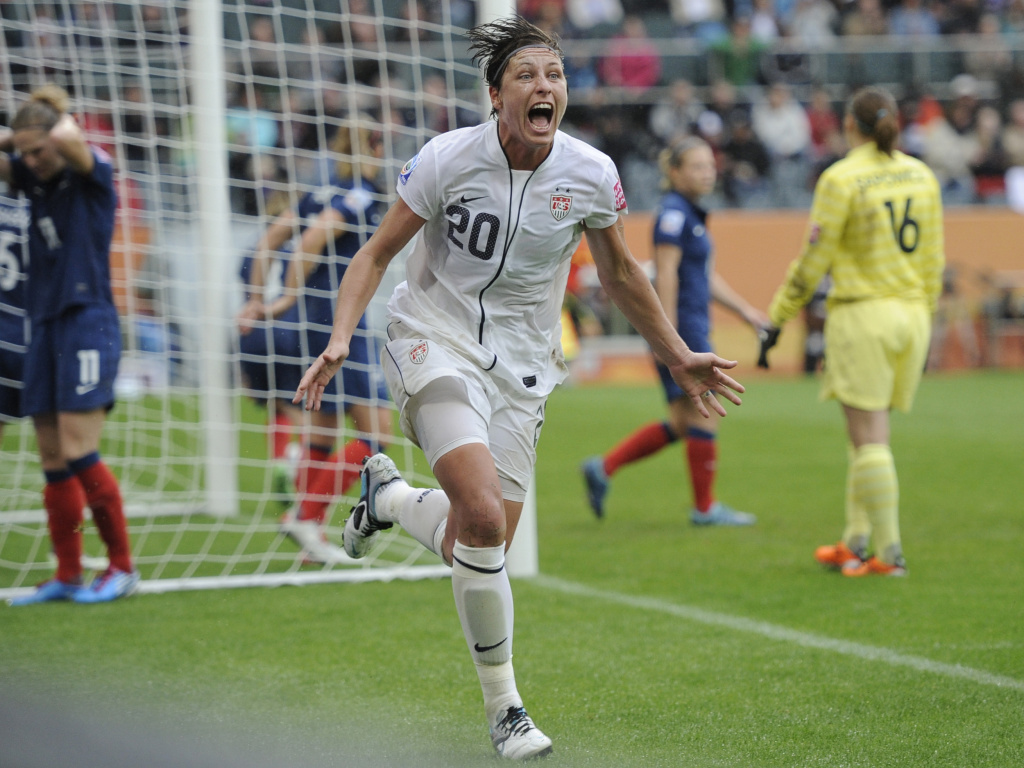Take Two Audio Soccer player Abby Wambach struggles with 1024x768