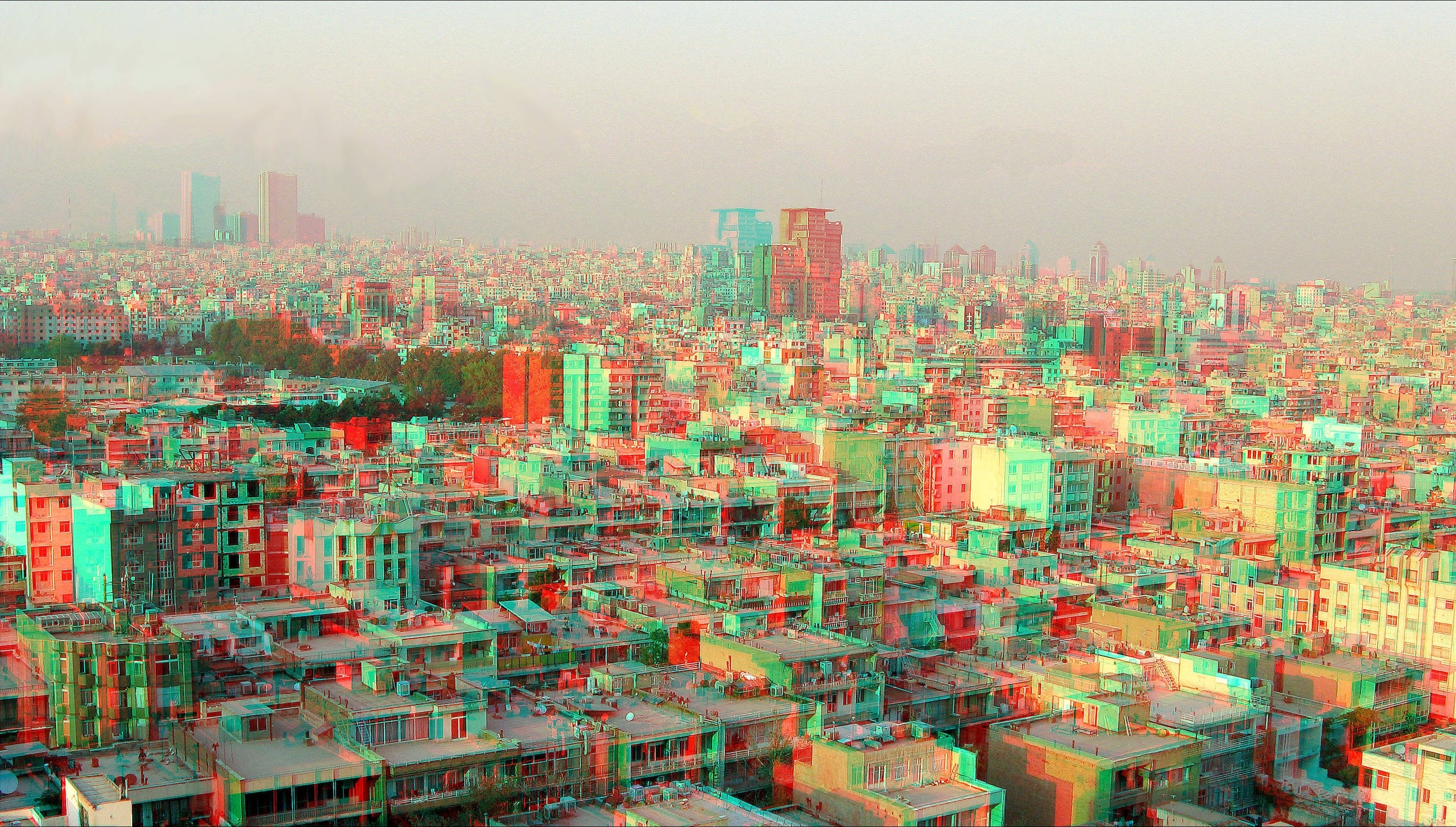 Download Wallpapers Download 2973x1691 anaglyph 3d Wallpaper 2973x1691