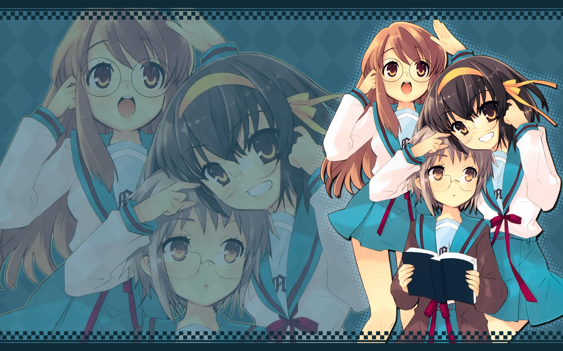 Free Download The Melancholy Of Haruhi Suzumiya Full Hd Wallpaper