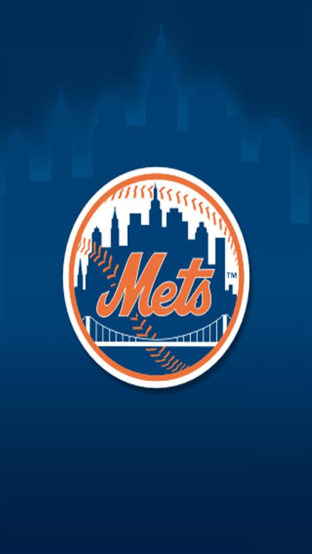 New York Mets LOGO iPhone Wallpapers iPhone 5s4s3G Wallpapers 640x1136