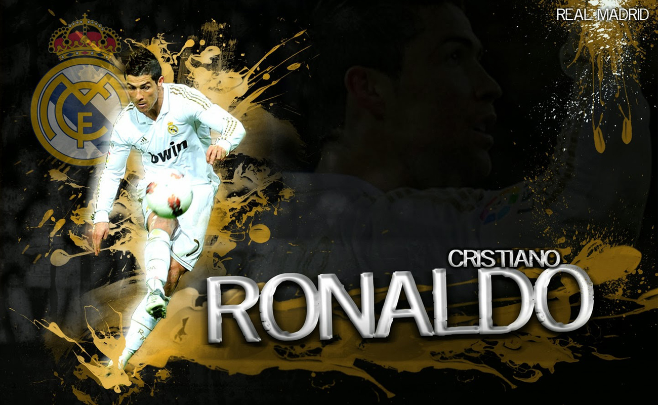 of best Wallpapers of Cristiano Ronaldo for year of 2014 Wallpapers 1300x800