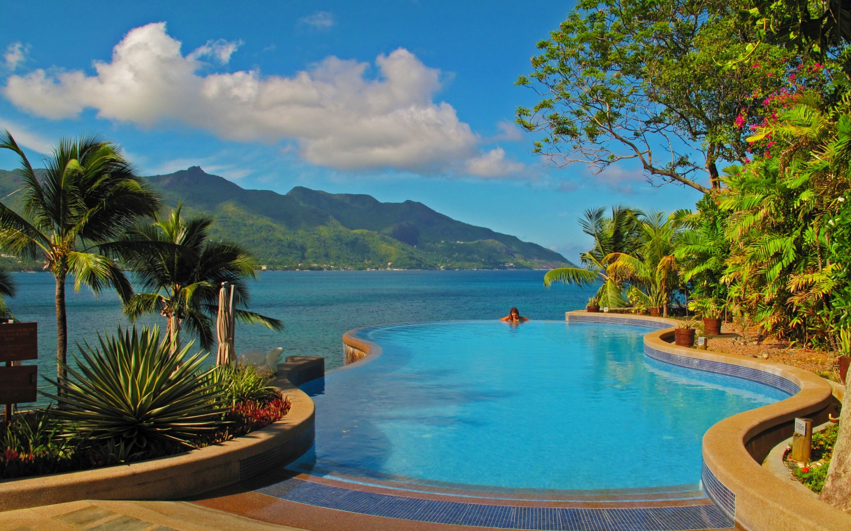 Tropical Background: Tropical Beach Desktop Wallpaper