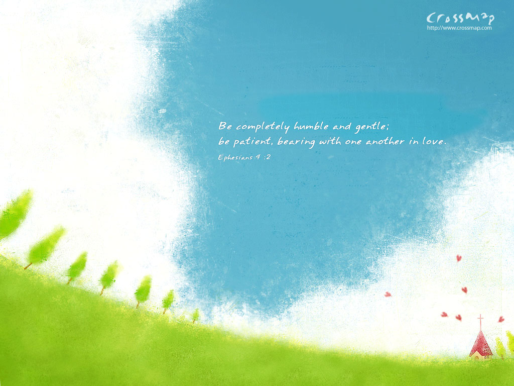 Be Completely Humble Christian Wallpaper Download   Crossmap 1024x768