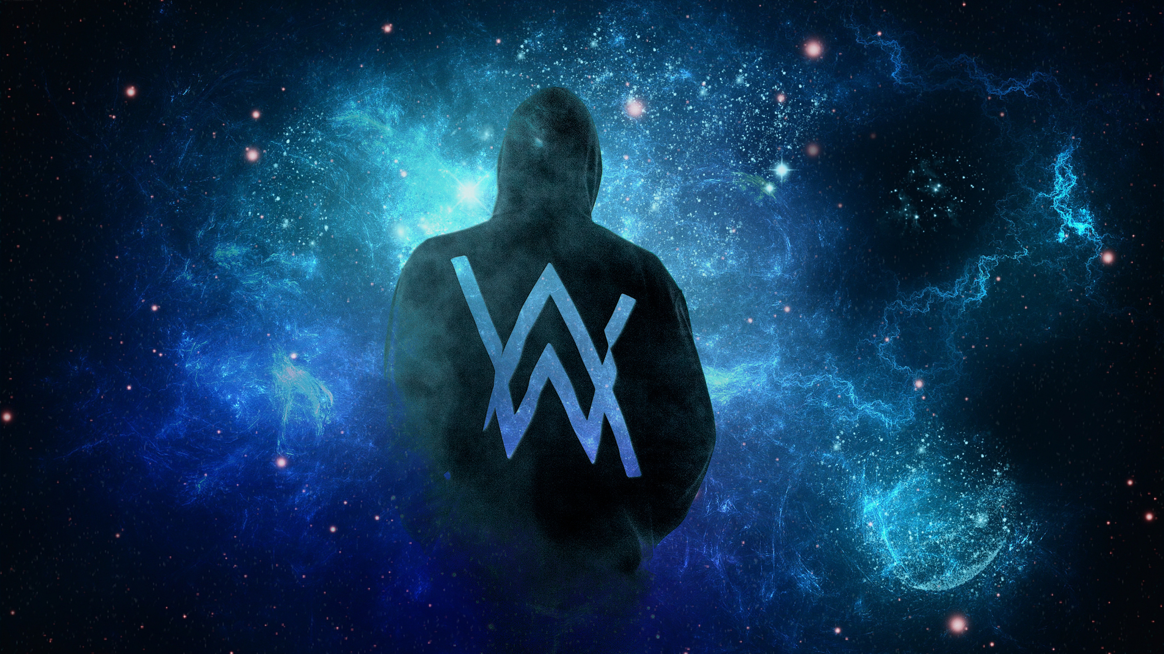 Alan Walker Logo Wallpapers 3840x2160
