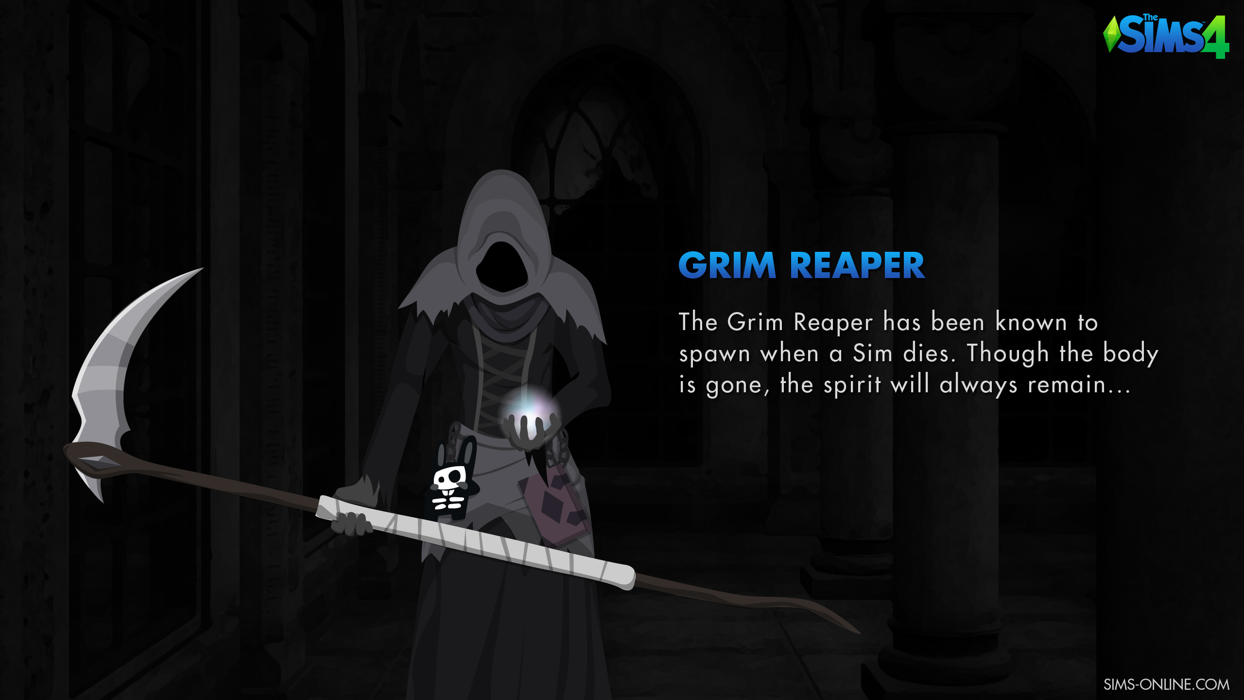 Free Download The Sims 4 Grim Reaper Wallpaper Sims Online