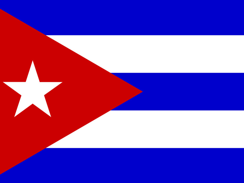 Enjoy our wallpaper of the month Cuban flag Flag wallpapers 1024x768