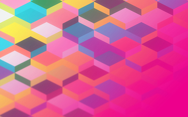 Pink Geometric Wallpaper Wallpapersafari
