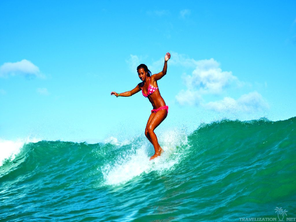 Surfer Girl Wallpaper Images Pictures   Becuo 1024x768