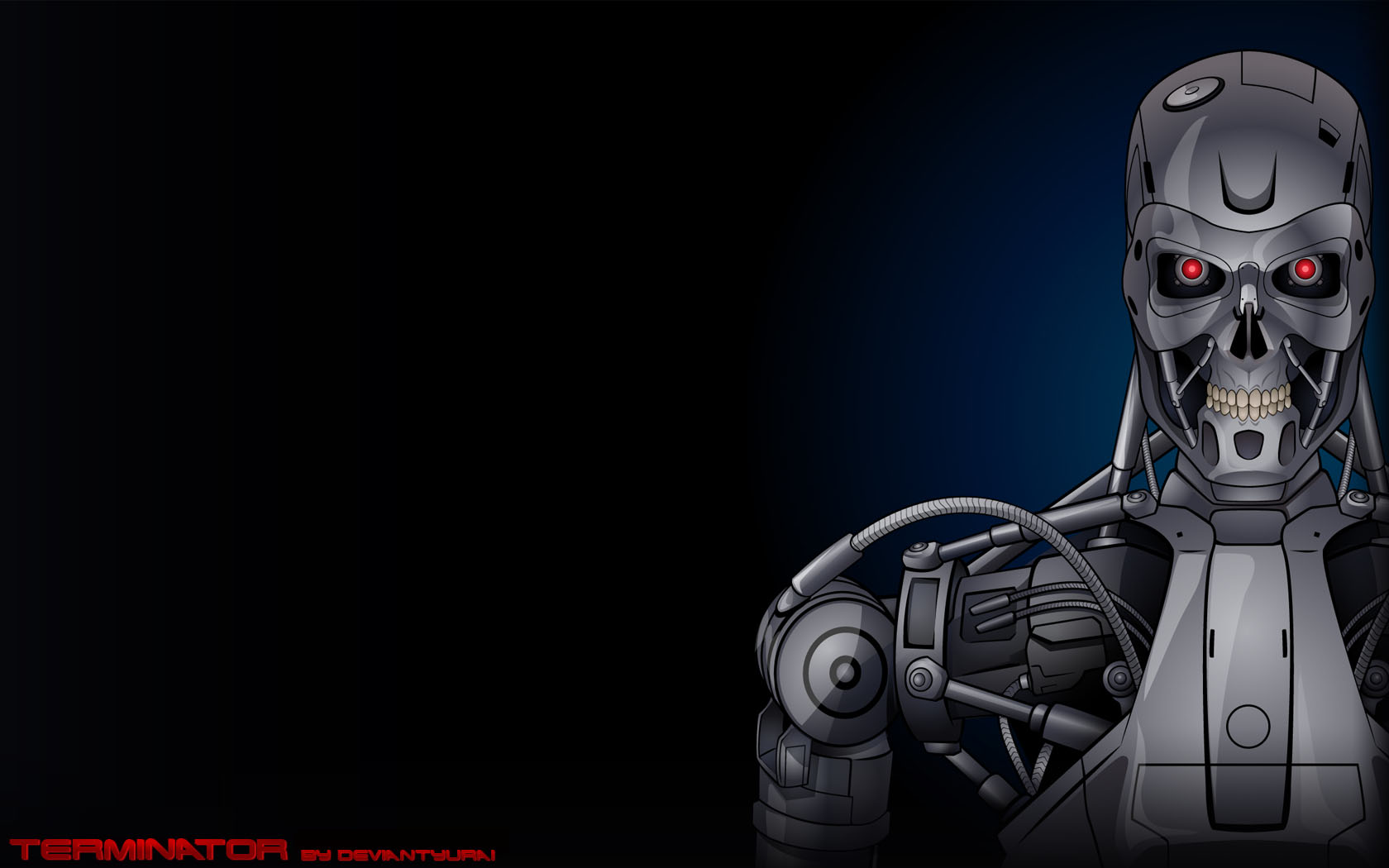 terminator hd wallpaper
