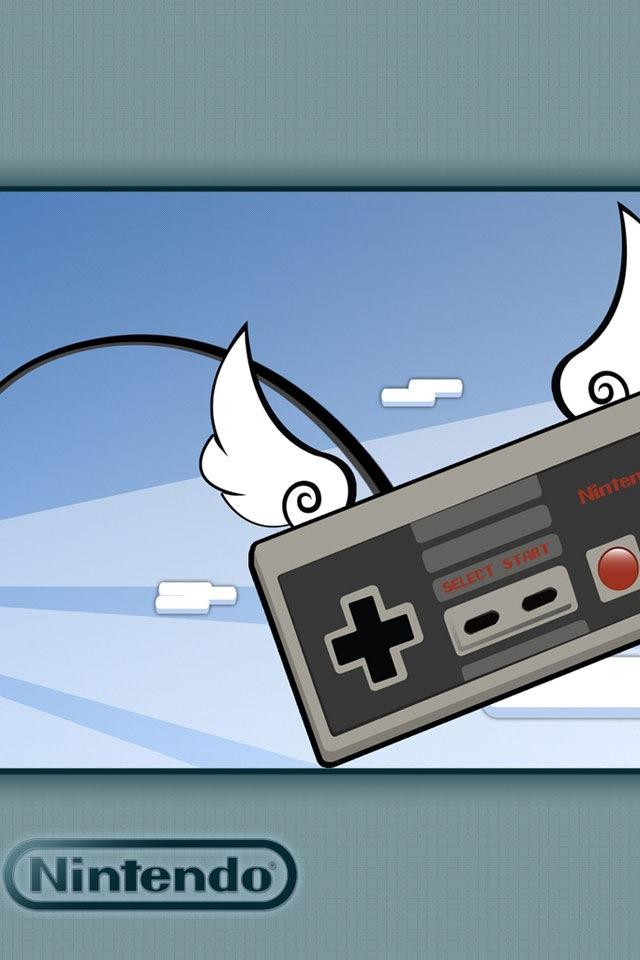Nintendo Controler download wallpaper for iPhone 640x960