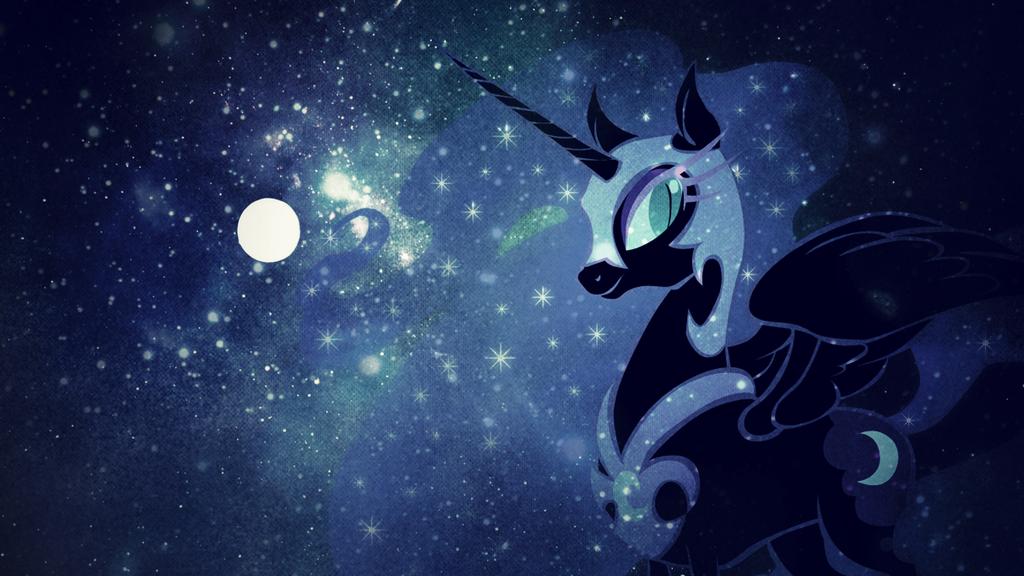 Wallpaper Nightmare Moon by MadBlackie 1024x576