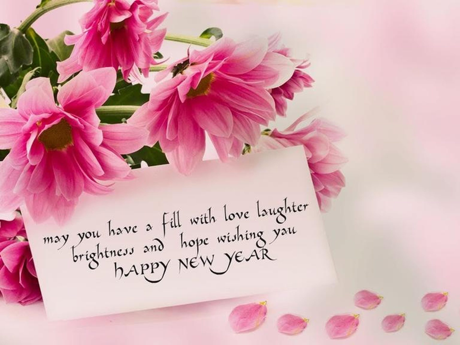 Happy New Year 2020 Rose Flowers Love Wallpapers Hd 5120x2880 1920x1440