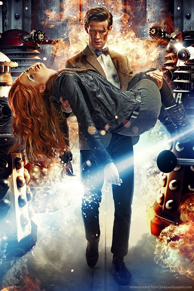 Doctor Who And Daleks for iPhone 4 640x960
