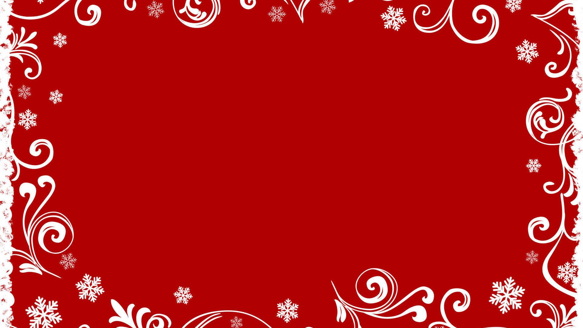 Christmas succinct theme red wallpaper HD wallpaper 1920x1080