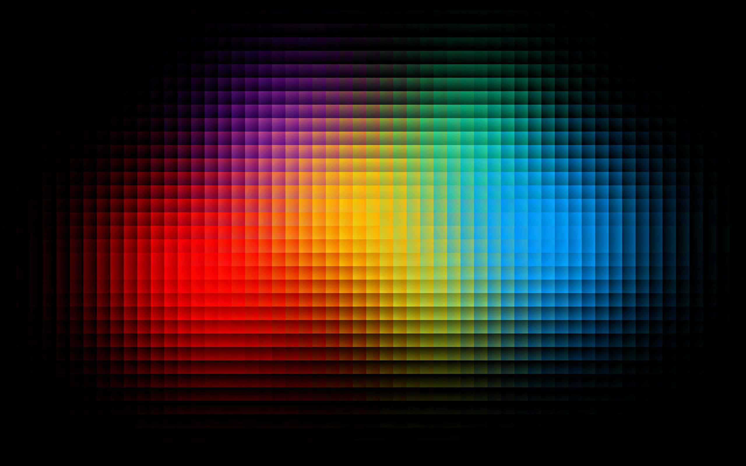 Colorful pixels wallpaper 2560x1600 1952 WallpaperUP 2560x1600