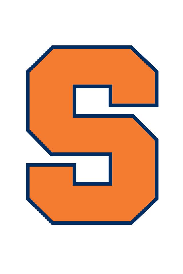 Syracuse Logo Wallpaper 640x960