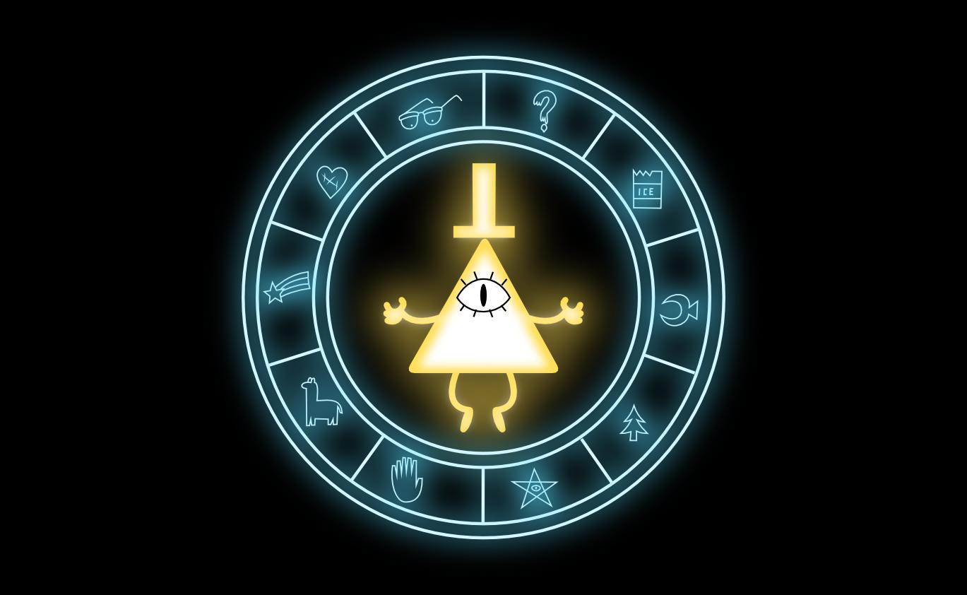 [49+] Bill Cipher Wheel Wallpaper on WallpaperSafari