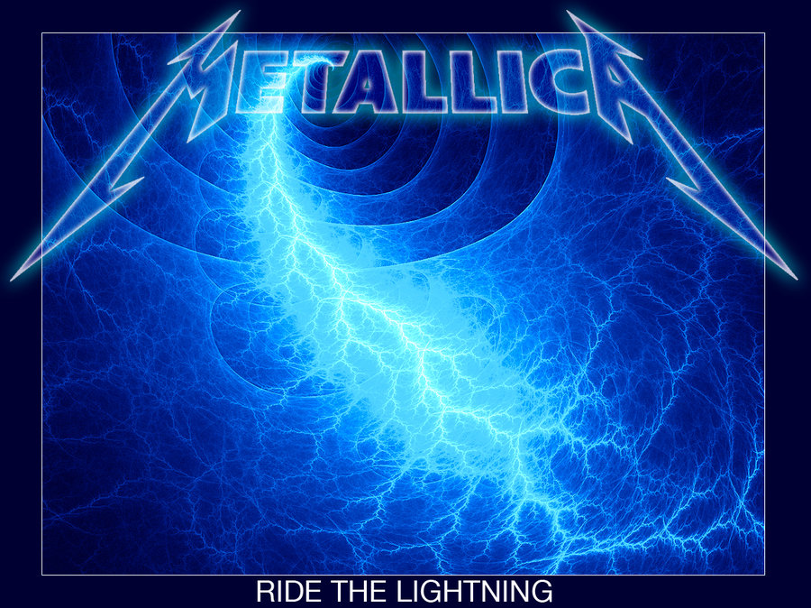 Metallica  Ride The Lightning by BEAMER3K 900x674